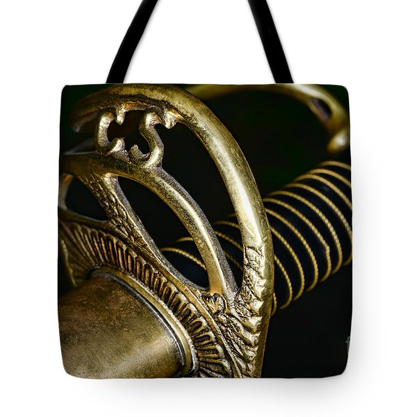 Civil War - Confederate Officer Sword - Weapon Tote Bag by Paul Ward