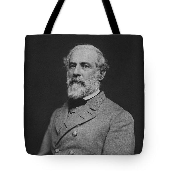 Civil War General Robert E Lee Tote Bag by War Is Hell Store