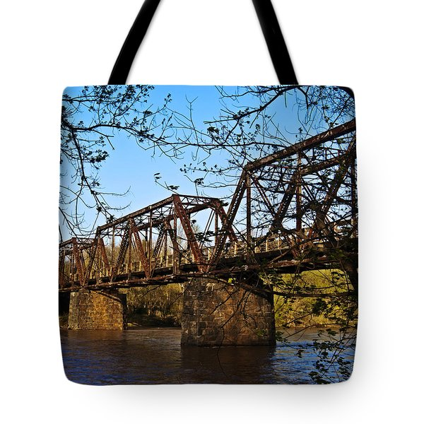 Civil War Trestle Tote Bag