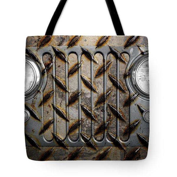 Civilian Jeep- Steel Gray Tote Bag