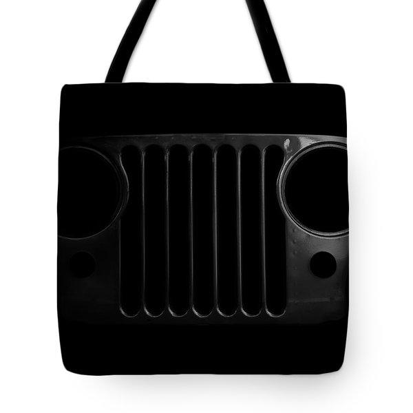 Cj Grille- Fade To Black Tote Bag