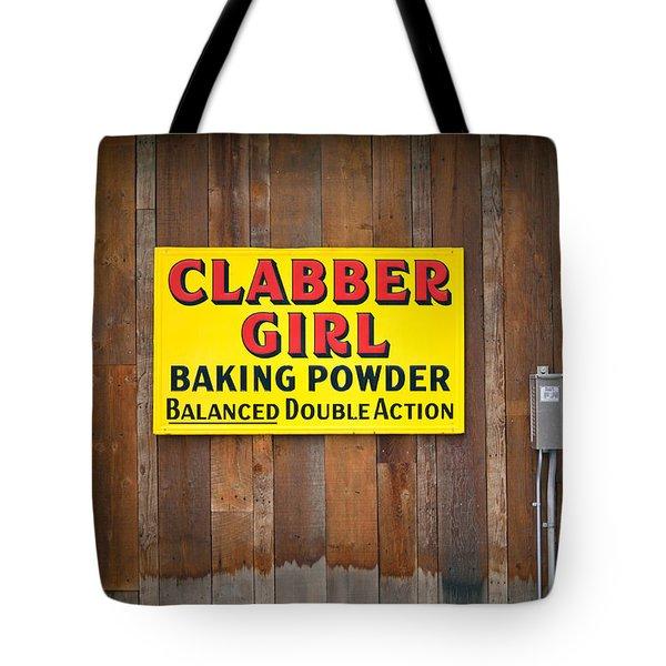 Clabber Girl Tote Bag