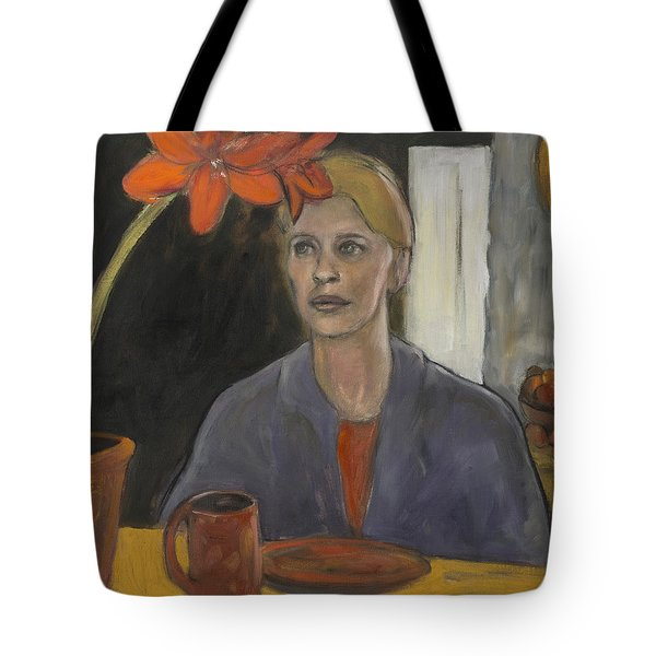 Claire's Amaryllis Tote Bag