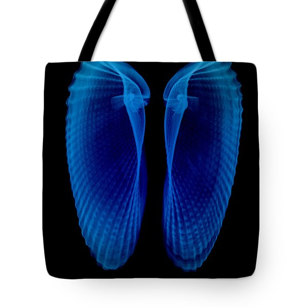 Clam Shells X-ray Tote Bag by Bert Myers