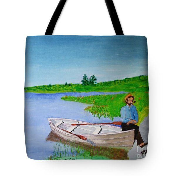 Clam Tucker Tote Bag