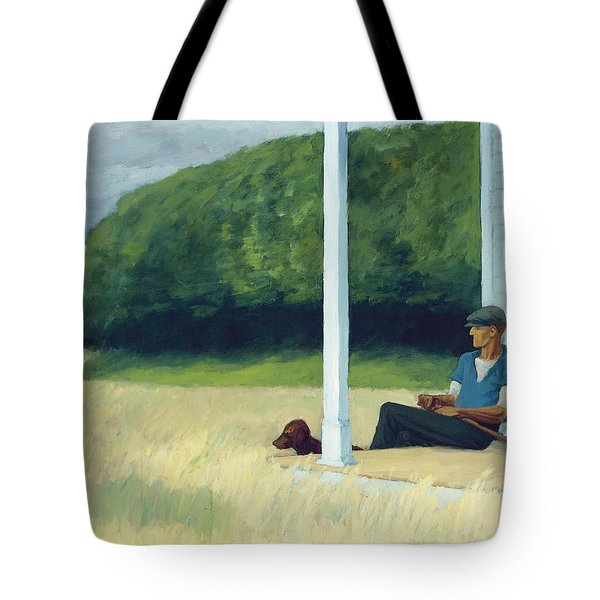 Clamdigger Tote Bag by Edward Hopper