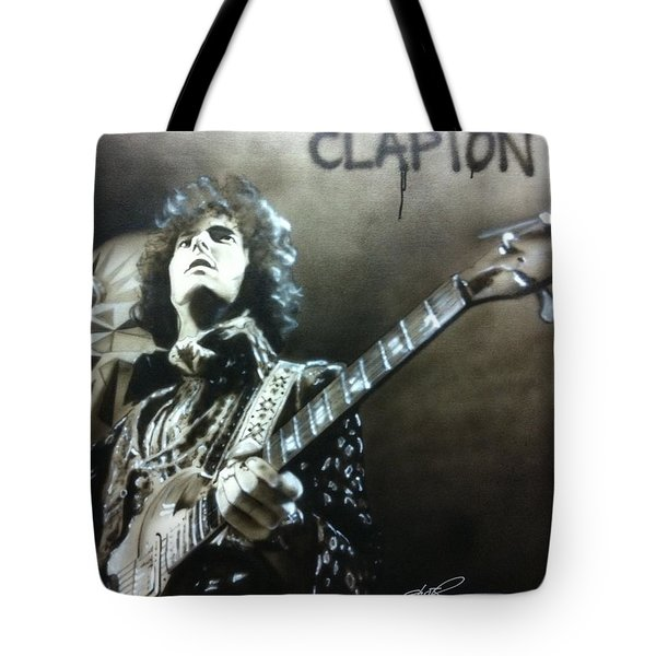 Clapton Tote Bag