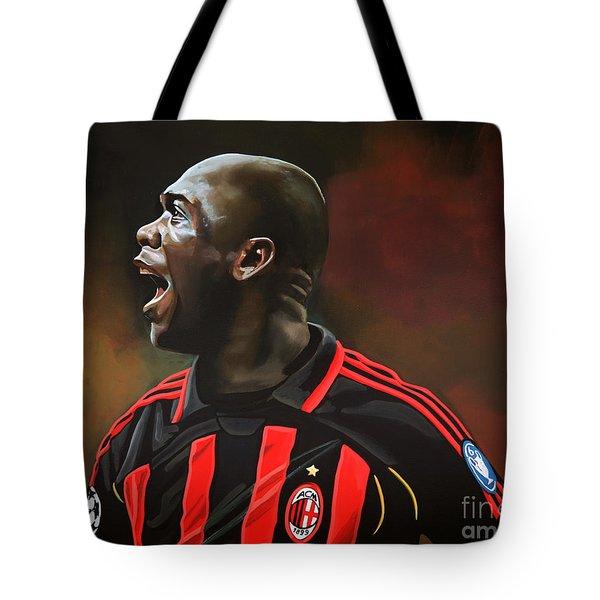 Clarence Seedorf Tote Bag