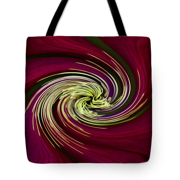 Tote Bag featuring the photograph Claret Red Swirl Clematis by Debbie Oppermann