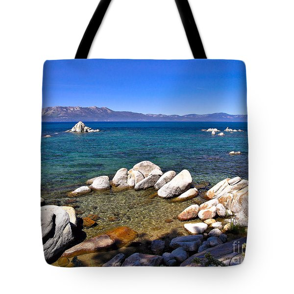 Clarity - Lake Tahoe Tote Bag
