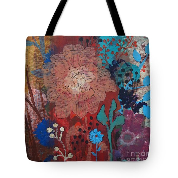Tote Bag featuring the painting Clarity by Robin Maria Pedrero