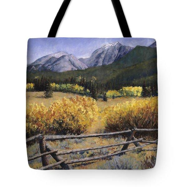 Clark Peak Tote Bag