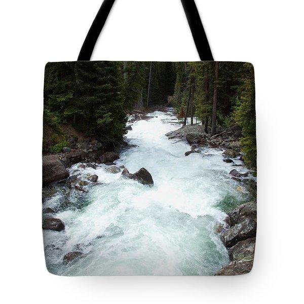 Clark's Fork River Tote Bag
