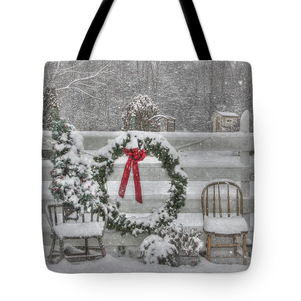 Clarks Valley Christmas 3 Tote Bag by Lori Deiter