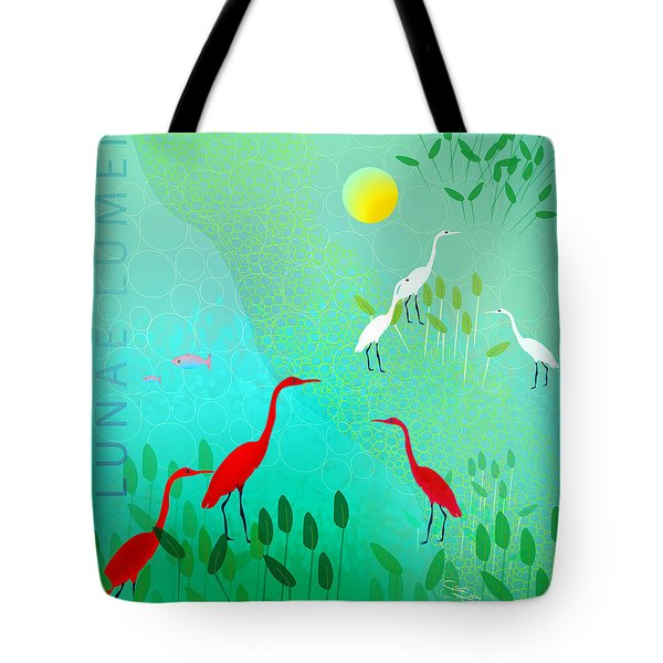 Claro De Luna II - Limited Edition Of 15 Tote Bag