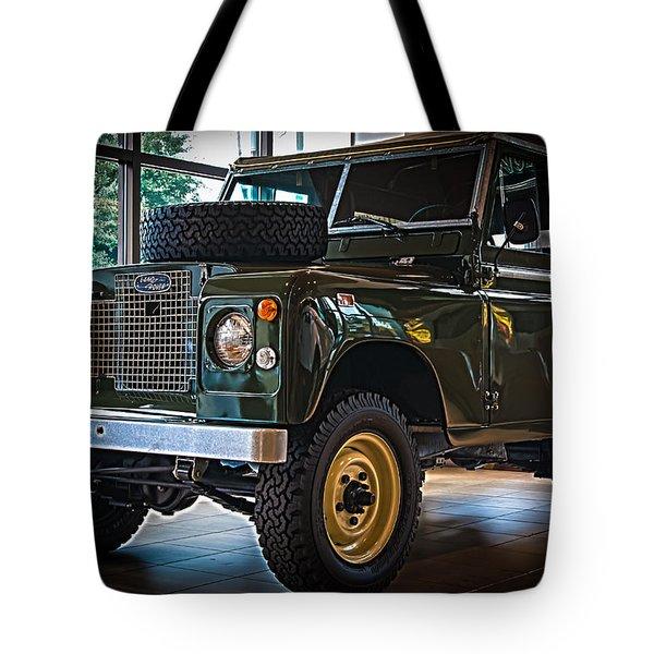Classic 1969 Land Rover Series IIa Tote Bag
