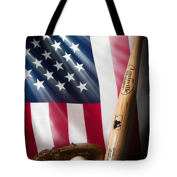 Classic Americana Tote Bag by Bill Wakeley