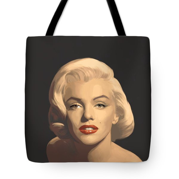 Classic Beauty In Graphic Gray Tote Bag