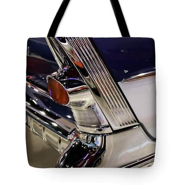 Tote Bag featuring the photograph Classic Buick Tail Light by Betty Denise