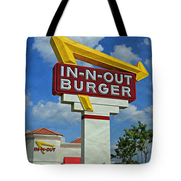 Classic Cali Burger 1.1 Tote Bag by Stephen Stookey