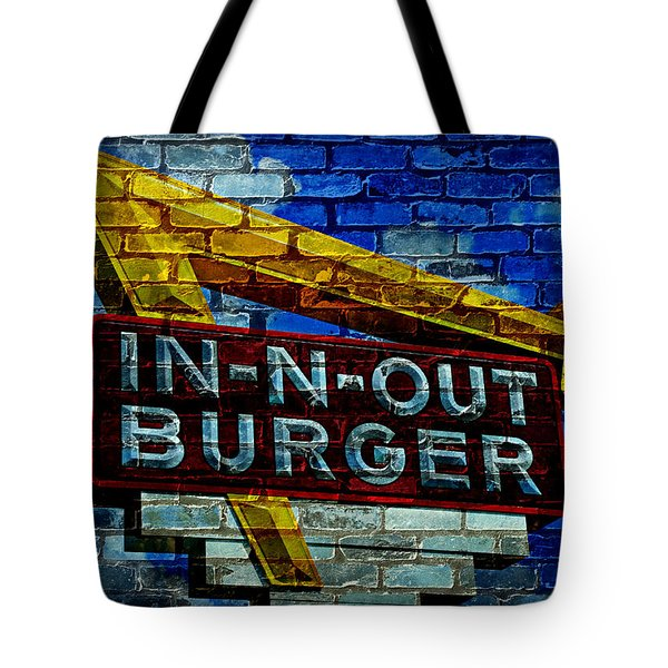 Classic Cali Burger 2.4 Tote Bag by Stephen Stookey