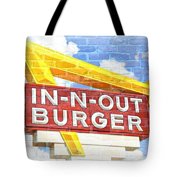 Classic Cali Burger 2.5 Tote Bag