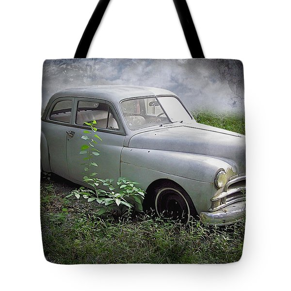 Classic Car Tote Bag by Brian Wallace