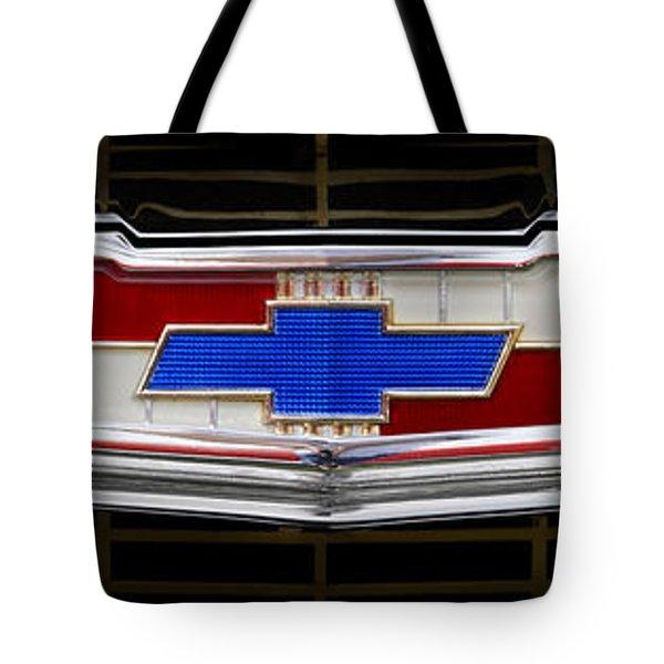 Classic Chevrolet Emblem Tote Bag