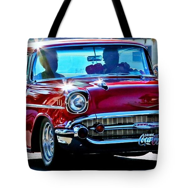 Classic Chevrolet Tote Bag by Tap On Photo