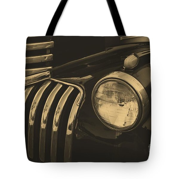 Tote Bag featuring the photograph Classic Chevy One by John S
