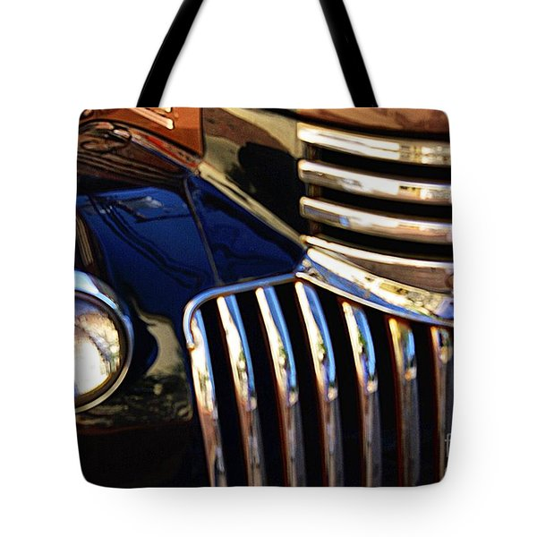 Tote Bag featuring the photograph Classic Chevy Two by John S