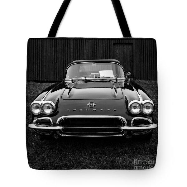 Classic Corvette Tote Bag by Edward Fielding