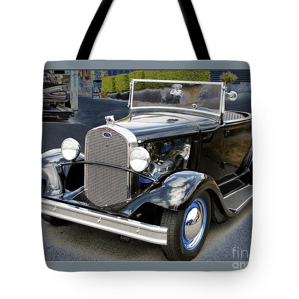 Tote Bag featuring the photograph Classic Ford by Victoria Harrington