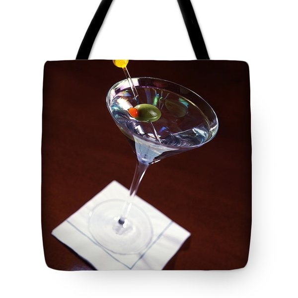 Classic Martini Tote Bag by Jon Neidert