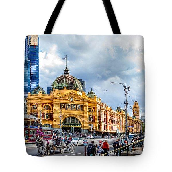 Classic Melbourne Tote Bag
