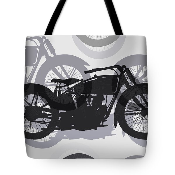 Classic Motorcycle  Tote Bag by Daniel Hagerman