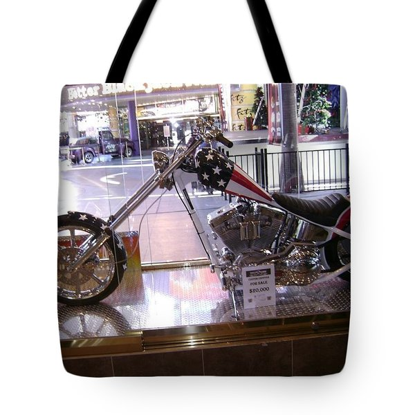 Classic Motorcycle Tote Bag