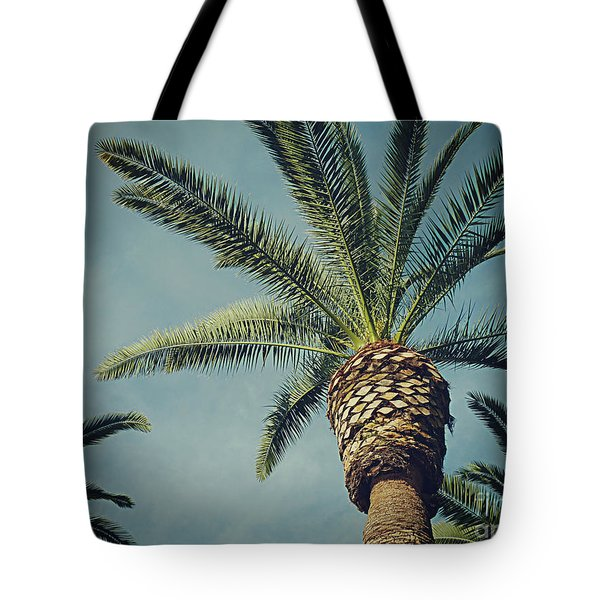 Tote Bag featuring the photograph Classic Palms2 by Meghan at FireBonnet Art