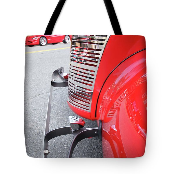 Classic Red Tote Bag by Karol Livote
