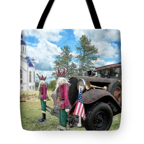 Classic Ride Tote Bag by Liane Wright