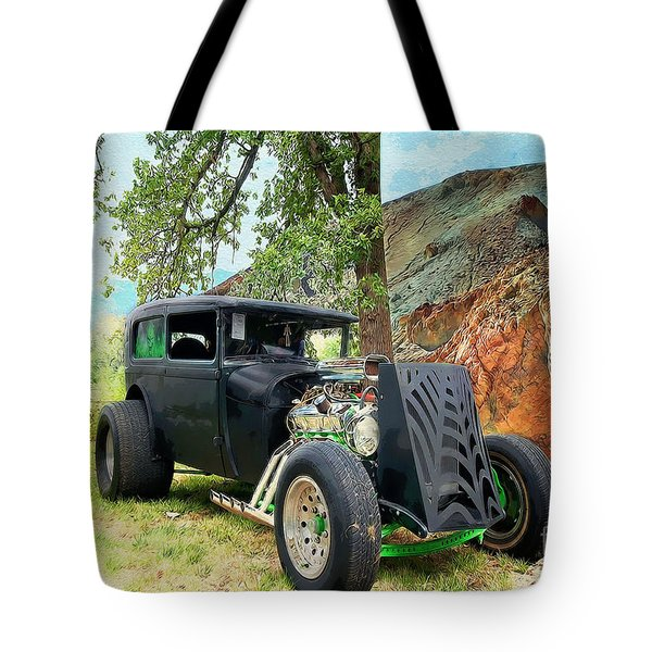 Classic Rod Tote Bag by Liane Wright