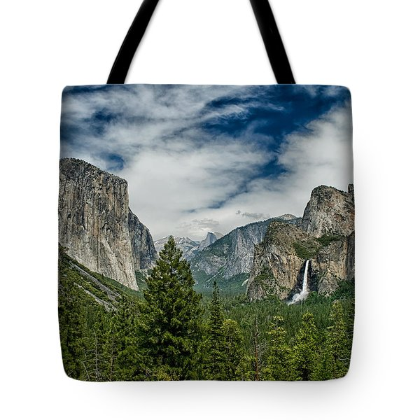 Classic Tunnel View Tote Bag by Cat Connor
