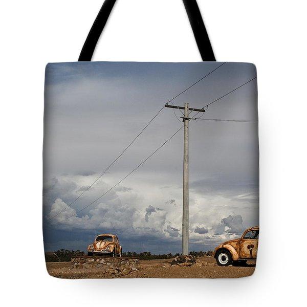 Classic Volkswagen Beetle Tote Bag by Lana Enderle