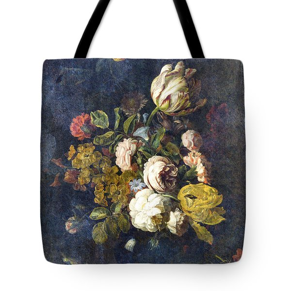 Classical Bouquet - S0104t Tote Bag by Variance Collections