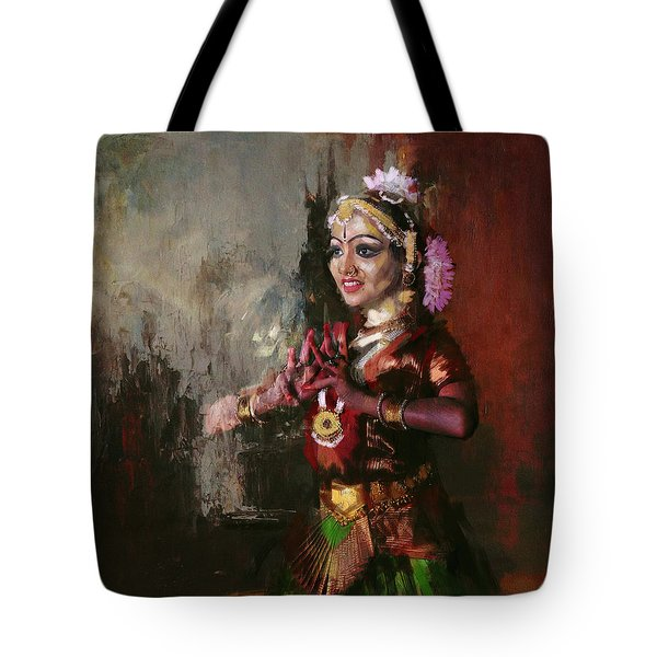 Classical Dance Art 10 Tote Bag