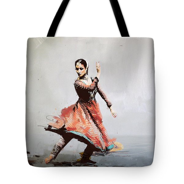 Classical Dance Art 11 Tote Bag