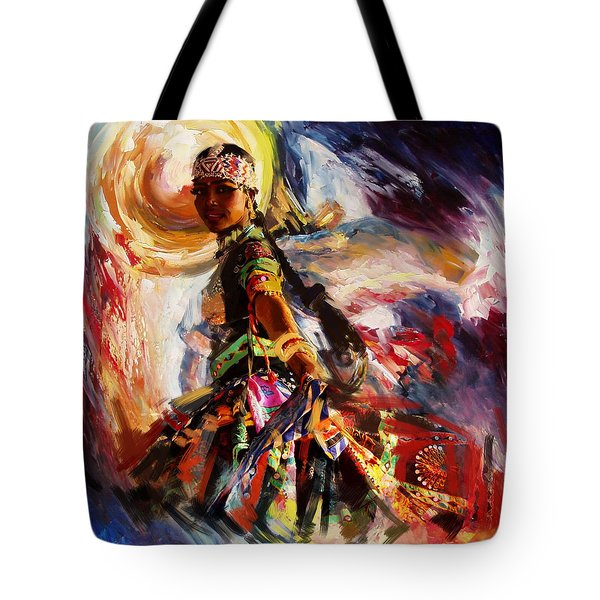 Classical Dance Art 13 Tote Bag