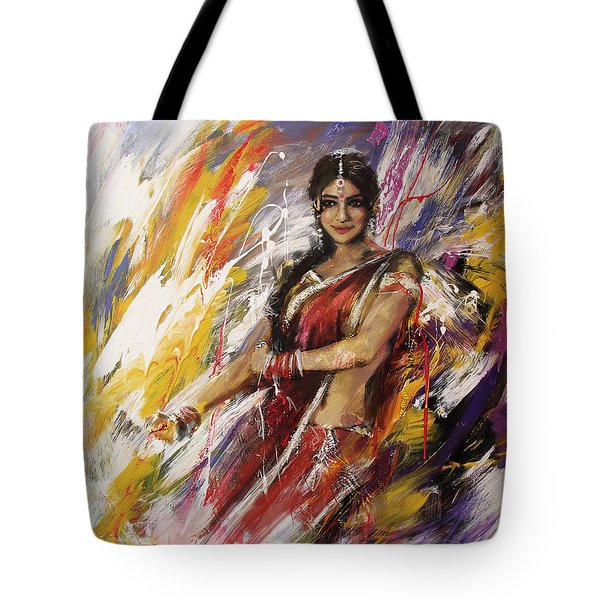 Classical Dance Art 14 Tote Bag