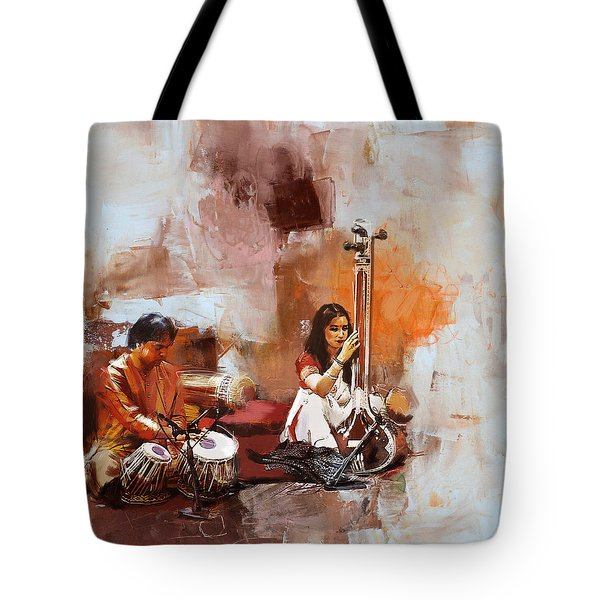 Classical Dance Art 17 Tote Bag