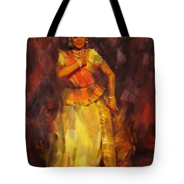 Classical Dance Art 18 Tote Bag